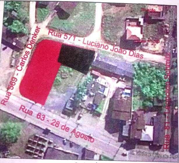 Terreno   no bairro Nova Esperança em Guaramirim